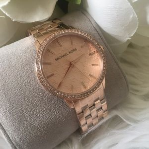 New Michael Kors rosegold watch